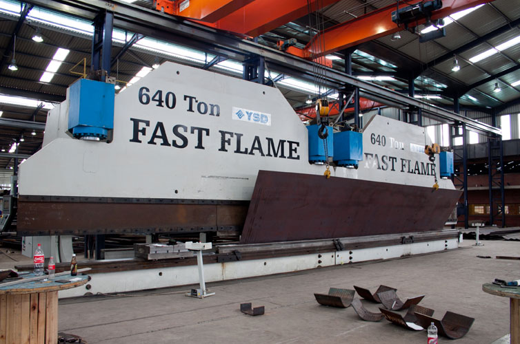 CNC Bending Services | Machine Tool Services | Fast Flame Profiling
