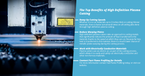 The Top Benefits of High Definition Plasma Cutting
